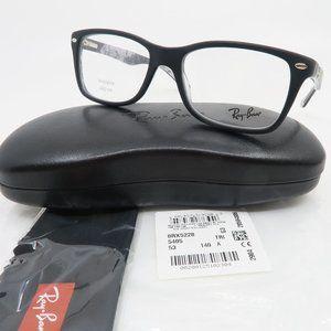 Ray-Ban RB 5228 5405 Matte Black Unisex Glasses